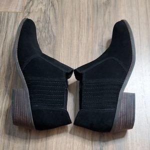 Lucky Brand Black Folley Booties